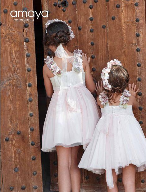 vestido amaya comunhao vestidocurto mariadavid tulerosa
