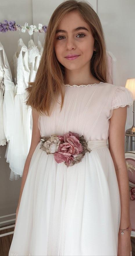 vestido comunhao amaya